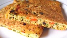 Fluffy Vegetable Omelette