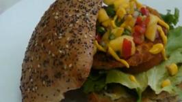 Ciabatta Bread Rolls Sandwich