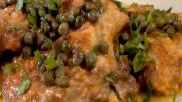Pork Chops Piccata with Lemon Caper Sauce