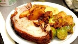 Apple Kraut Pork Roast