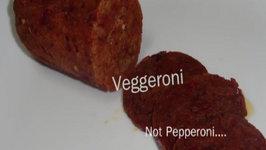 Veggeroni (Vegetarian Pepperoni Sausage) - Non-meat mania