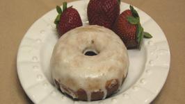 Lynn's Strawberry Glazed Doughnuts