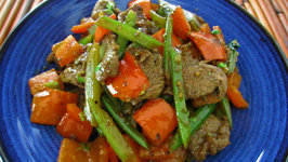 Cumin Beef with Celery