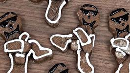 Gangnam Style Christmas Cookie
