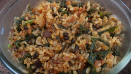 Kale and Brown Rice