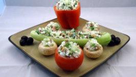 Cottage Cheese Vegetable Summer Salad