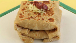 Rajma Cheese Parathas by Tarla Dalal