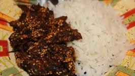 Shredded Chicken In Mole Sauce