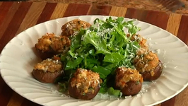 Shrimp and Italian Sausage Stuffed Mushrooms and How to Keep Produce Fresh