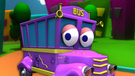 The Wheels On The Bus Go Round And Round In 3D