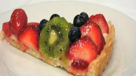 Lynn's Fresh Fruit Tart - July 4th