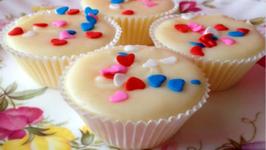Ridiculously Easy Valentine Fudge