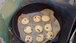 Outdoor Dutch Oven Cookies