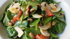 Classic Beans and Greens Spinach Salad