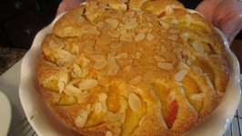 Peach Torte - Betty's Kitchen Fare - How to Make