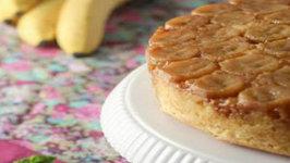 How to Make Upside Down Banana Cake - Super Moist