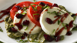 Holiday Cranberry Caprese Salad