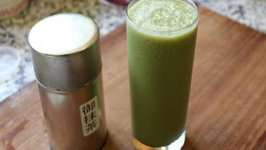 How to Make a Green Tea Ice Frapp