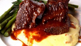 Ribs with Apricot Barbecue Sauce