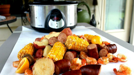 Crockpot Shrimp Boil for Two