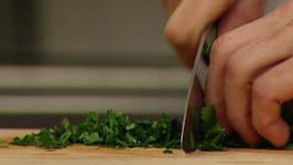 How To Chop Parsley and Herbs
