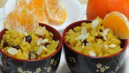 Orange Cranberry Oats for Breakfast by Bhavna