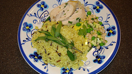 Chicken With West Indies Peas And Rice