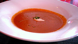 Chilled Cucumber And Bell Pepper Soup