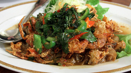 Crispy Noodles with Lime Pickle