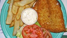 Deep Fried Fish With Tomato Sauce
