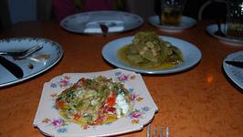 Eggplant Salad With Basil