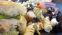 Low Fat Chilled Italian Pasta Salad