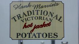 Jacket Potatoes with Pesto