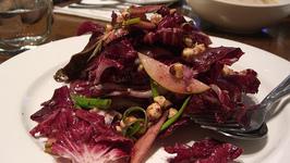 Pork And Pear Salad