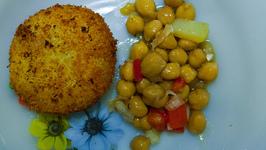 potato and walnut cutlet
