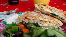 Provolone Panini Sandwiches