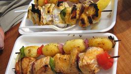 Sea Food Kabobs
