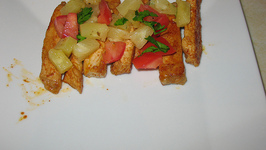Seared Pineapple Salsa