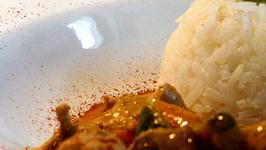 Seasonal Vegetables In Thai Green Curry