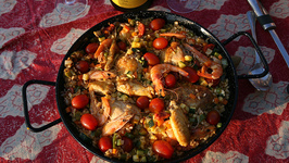 Skillet Seafood Bisque