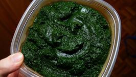 Parmesan Spinach Puree