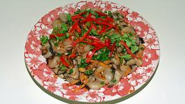 Stir Fried Pork And Shrimp