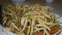 Thai Hot Chicken Noodle Salad