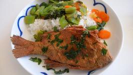 White Fish Stir Fry