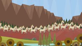 Twenty White Horses