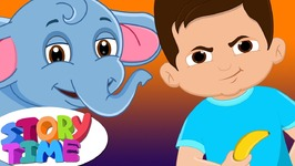 Boy & Baby Elephant - Bedtime Stories for Kids in English - ChuChu TV Storytime