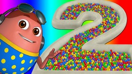 Surprise Eggs Ball Pit Show for Kids to Learn NUMBERS 1-10 - ChuChu TV Funzone 3D for Children