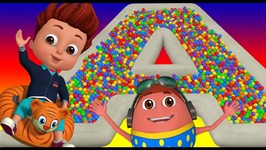The ABC Song - Ball Pit Fun Show for Kids to Learn ALPHABETS - ChuChu TV Funzone 3D for Children