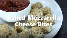 Baked Mozzarella Cheese Bites