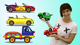 Cars Cartoons  Learn Numbers With Helpy The Truck Cars Tacing Cartoon  Educational video.